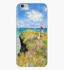 Claude Monet - Walk on the Cliff at Pourville iPhone Case