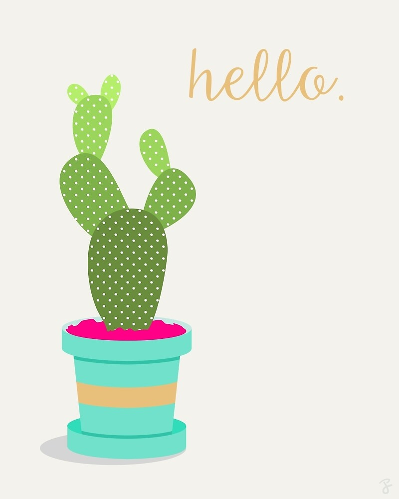 Friendly Cactus by jbott
