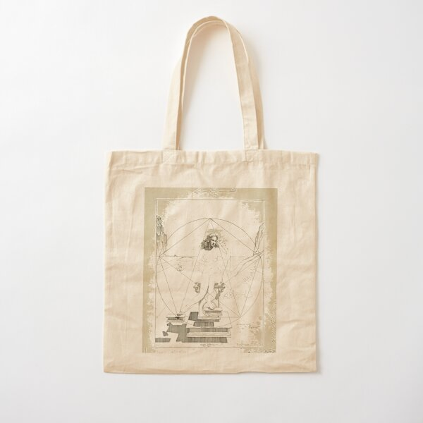 Leda Atomica is a painting by Salvador Dalí, made in 1949 Cotton Tote Bag