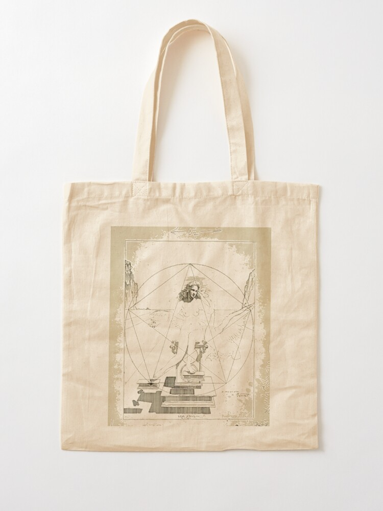 Alternate view of Leda Atomica is a painting by Salvador Dalí, made in 1949 Tote Bag