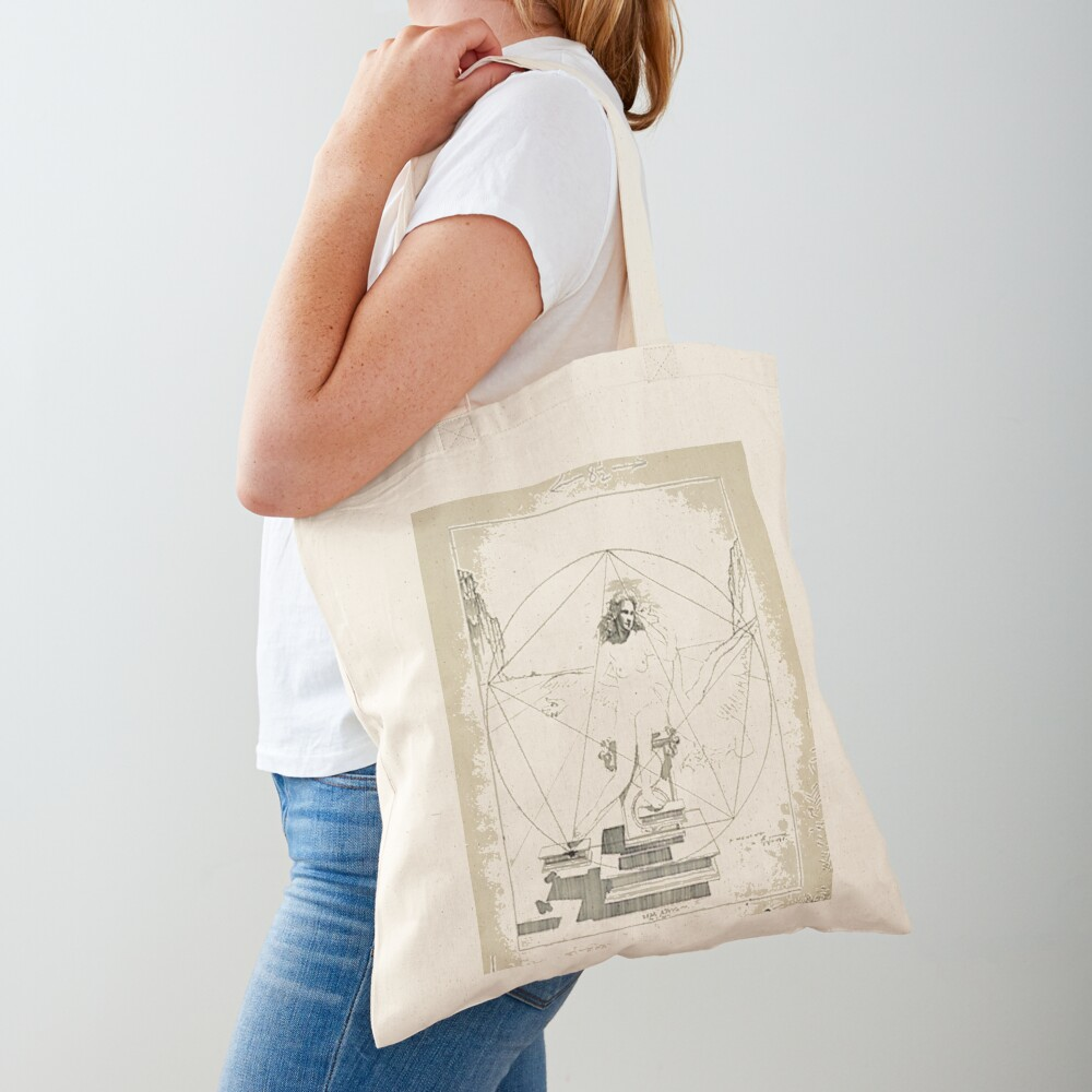 Leda Atomica is a painting by Salvador Dalí, made in 1949 Tote Bag