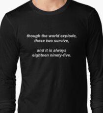 221B by Vincent Starett (white) Long Sleeve T-Shirt