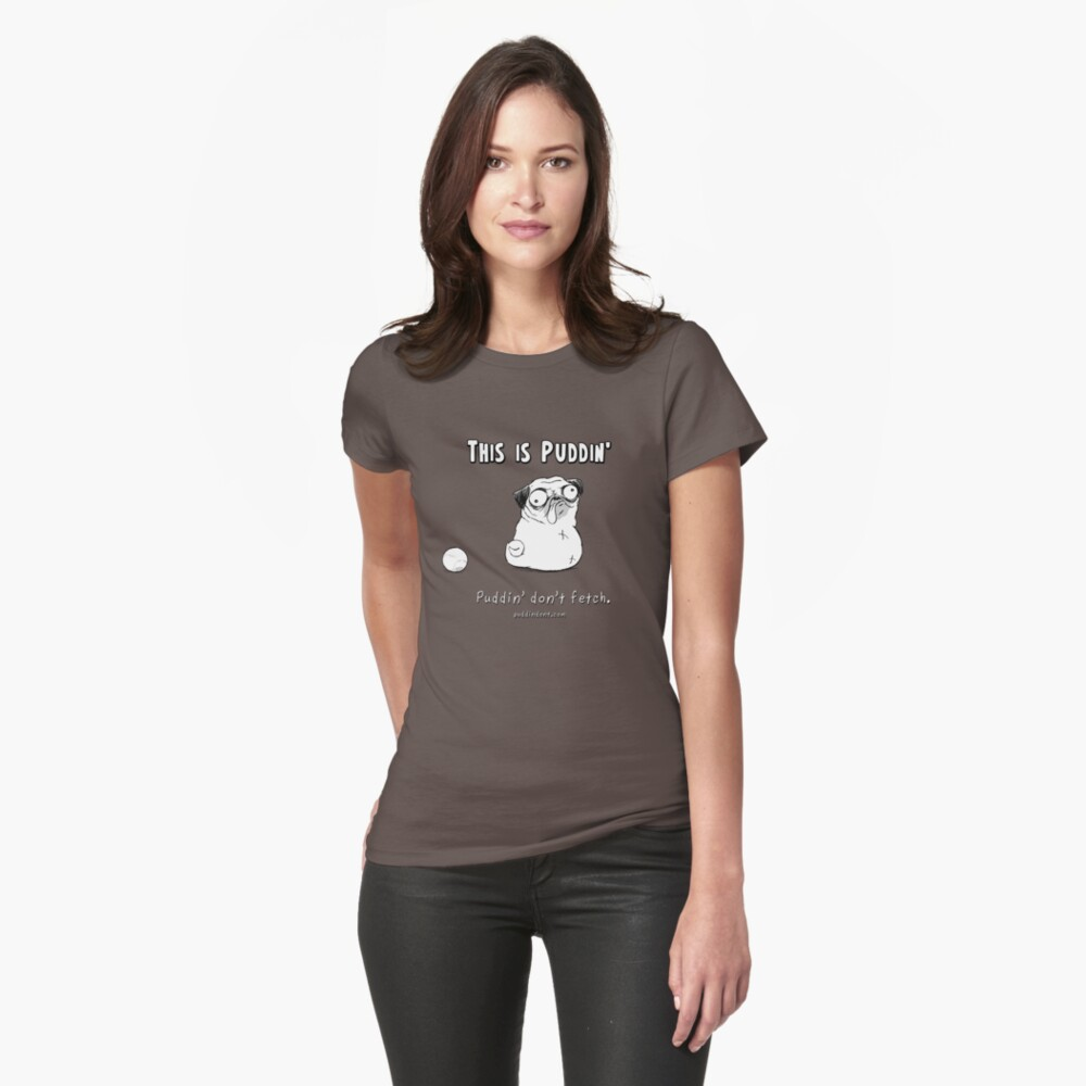 This is Puddin' Womens T-Shirt Front