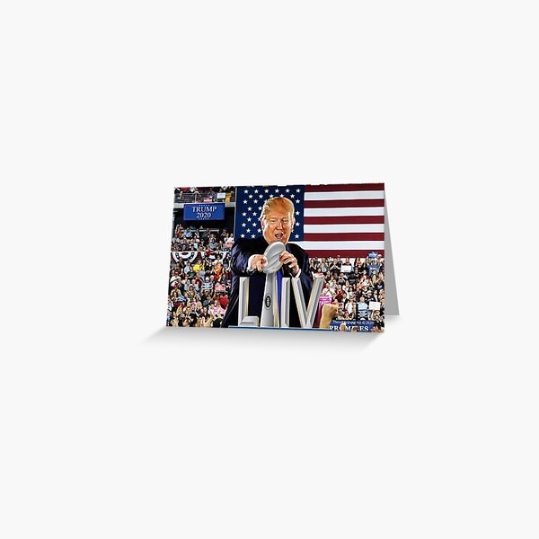 Super State of the Union Address 2020 Greeting Card