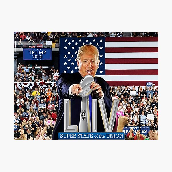 Super State of the Union Address 2020 Photographic Print