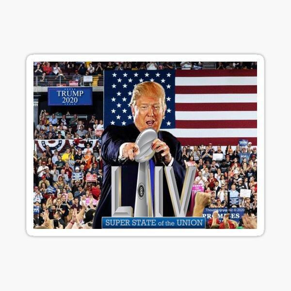 Super State of the Union Address 2020 Sticker