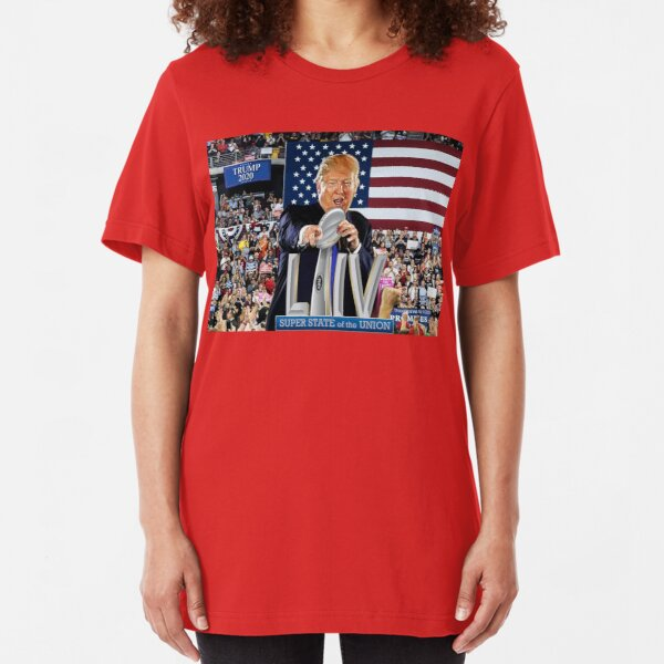 Super State of the Union Address 2020 Slim Fit T-Shirt