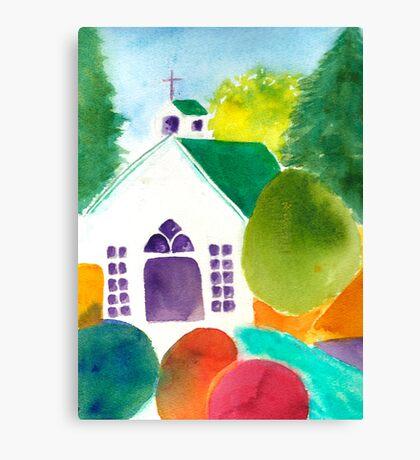 Chapel at Roche Harbor Canvas Print