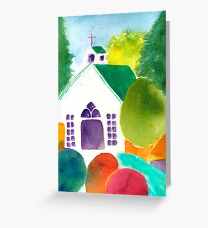 Chapel at Roche Harbor Greeting Card