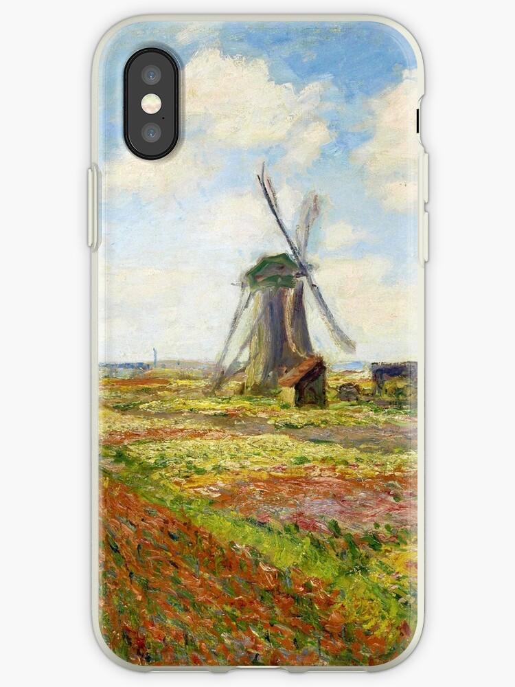 Claude Monet - Ein Tulpenfeld in Holland von irinatsy