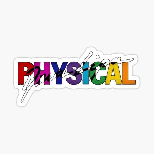 Dua Lipa - Physical Sticker