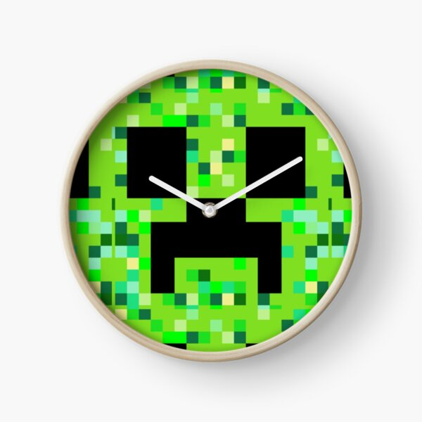 creeper minecraft Clock
