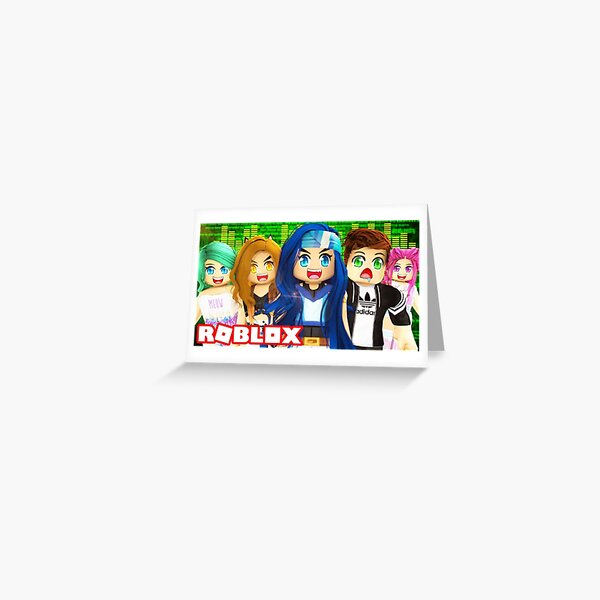 Itsfunneh Roblox Grandma Obby Youtube Its Funneh Stationery Redbubble