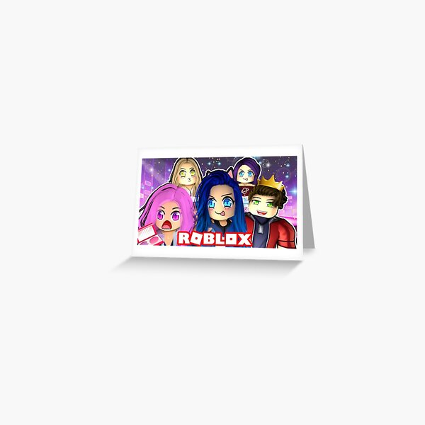 Funny Moments Flicker Roblox Funneh Roblox Greeting Cards Redbubble
