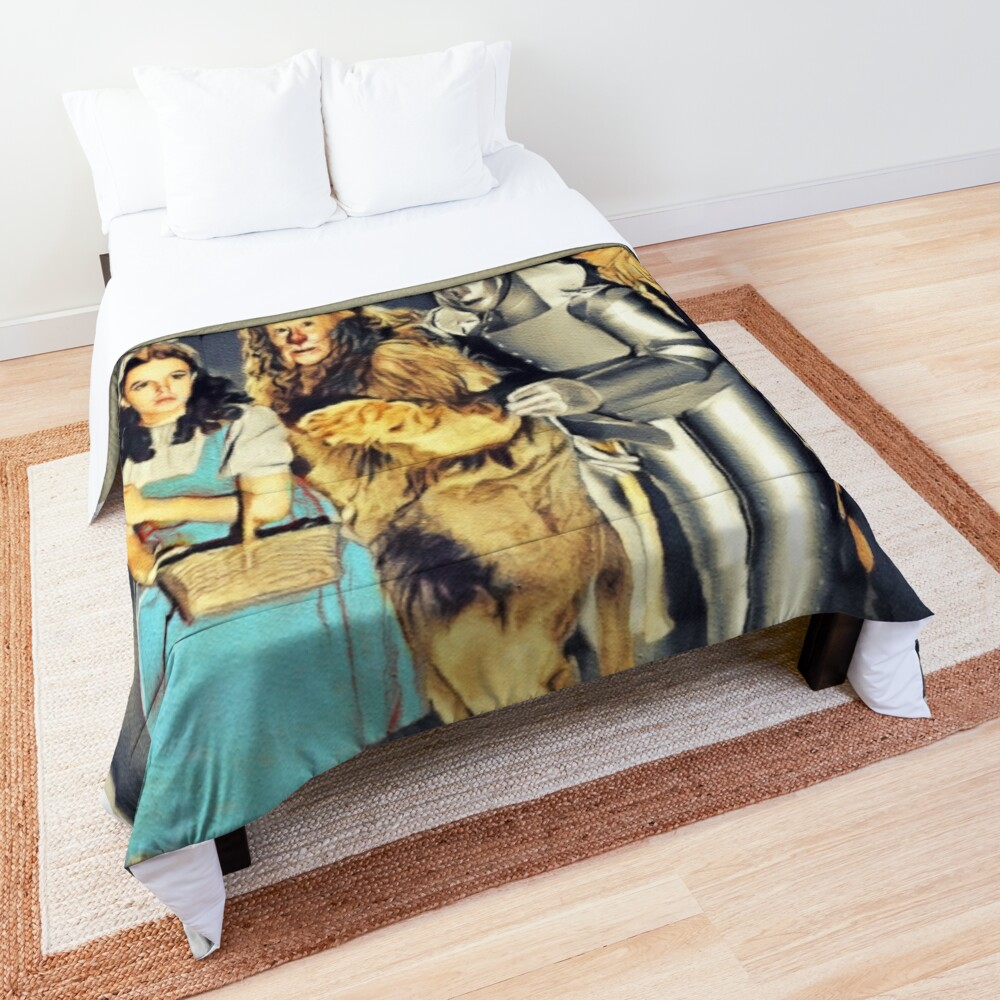 The Cast of the Wizard of Oz Comforter