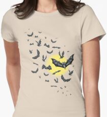 Bat Swarm (Shirt) Womens Fitted T-Shirt