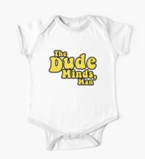 The Dude Minds, Man One Piece - Short Sleeve