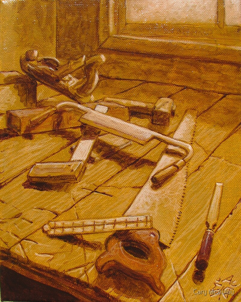 Study for Carpenter's Bench by Cary McAulay