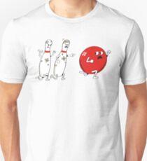 Ten Pins Turn the Tables Unisex T-Shirt