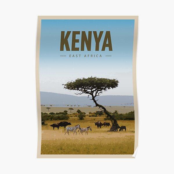 Explore Kenya Poster