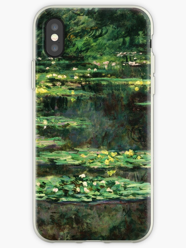 the best attitude 43811 cc13f 'Claude Monet - Water-Lilies ' iPhone Case by irinatsy