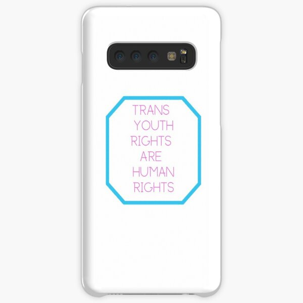 Trans Youth Rights Are Human Rights Samsung Galaxy Snap Case