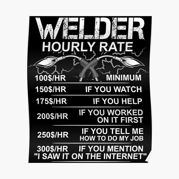 Funny Welder Memes Posters Redbubble