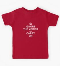 Ignore the Voices - Slogan Tee Kids Clothes