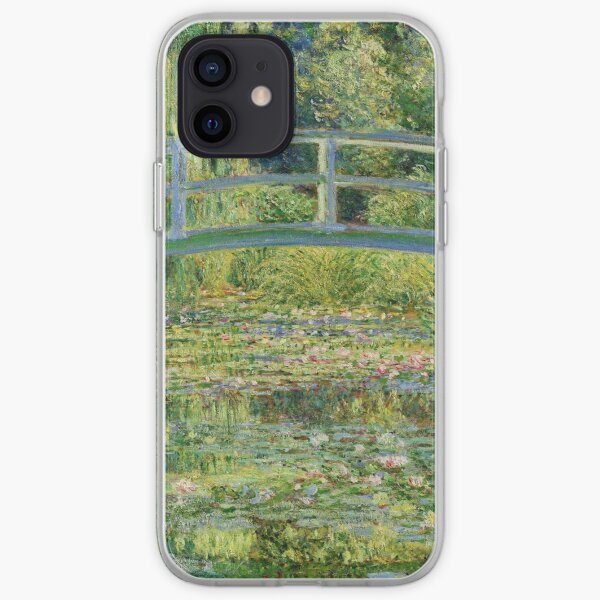 Claude Monet - Water-Lily Pond iPhone Soft Case