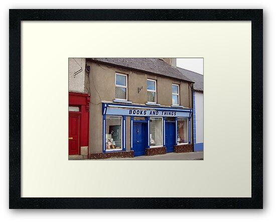 Bookshop, Bagenalstown, Carlow, Eire by David Carton