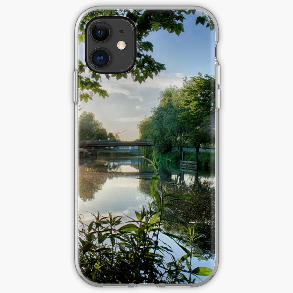River Reflected Rays iPhone Case & Cover