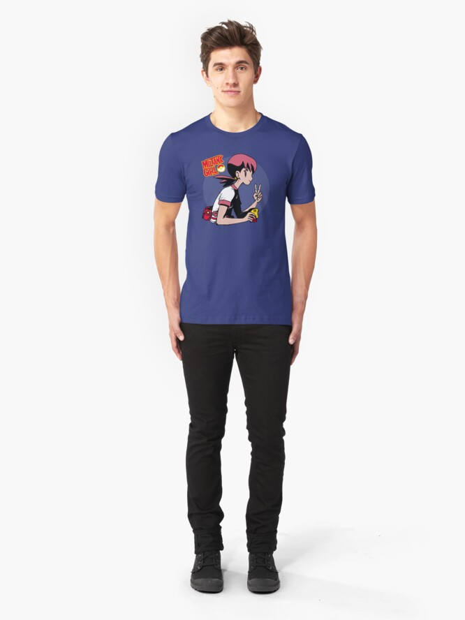 Alternate view of Miltank Girl Slim Fit T-Shirt