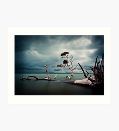 Lonesome (Moreton Bay, Queensland) Art Print