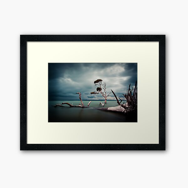 Lonesome (Moreton Bay, Queensland) Framed Art Print