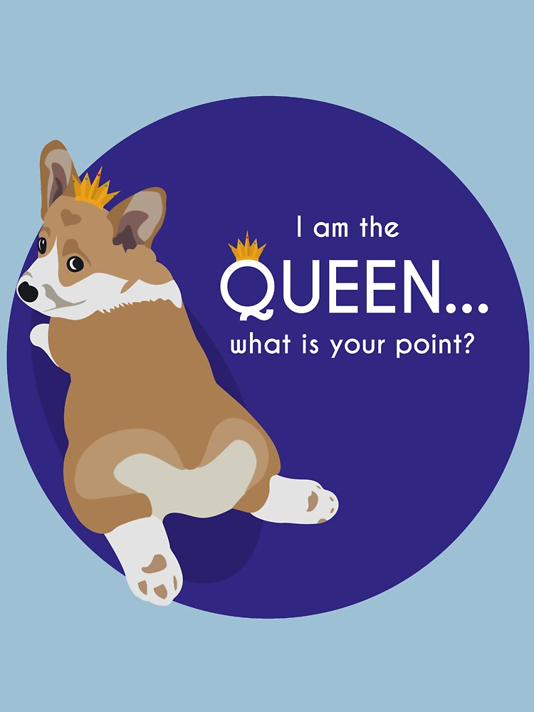 Queen Corgi by wolfenoot