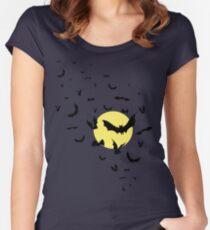 Bat Swarm Women's Fitted Scoop T-Shirt