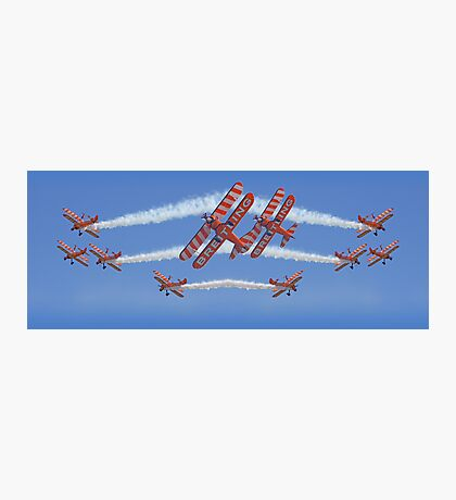 10 Ship Wingwalkers ! Photographic Print