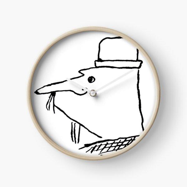 Ubu's portrait Clock