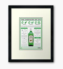 The Chemistry of Gin Framed Print