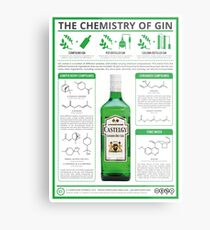 The Chemistry of Gin Metal Print