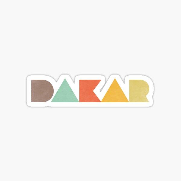 Dakar Vintage Sticker