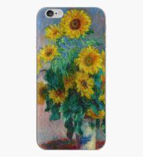 Claude Monet - Blumenstrauß aus Sonnenblumen iPhone-Hülle & Cover