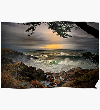 Little Whale Cove ~ Oregon Coast ~ Poster