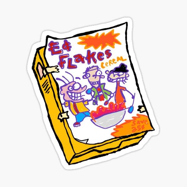 Ed Flakes Cereal - Ed, Edd n Eddy Sticker