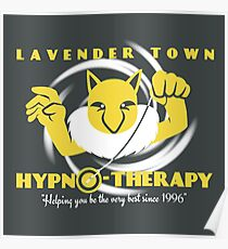 Lavender Town Hypno-Therapy Poster