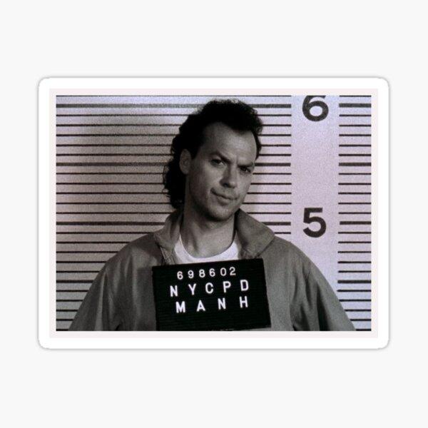 Michael Keaton - Savage! Sticker