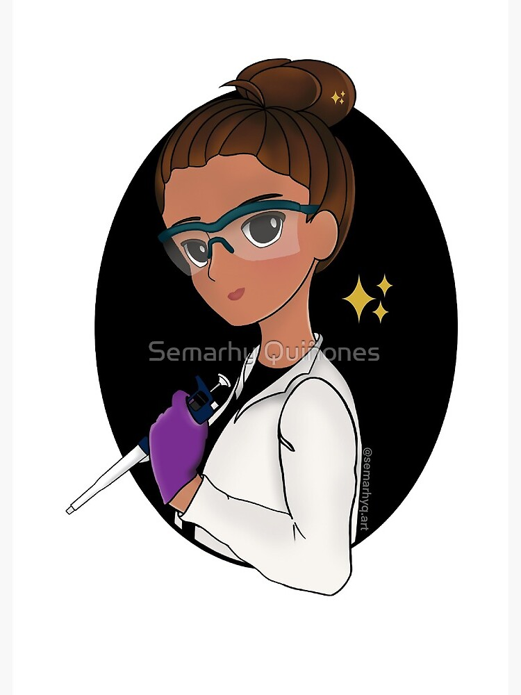 Scientist with p1000 by semarhy