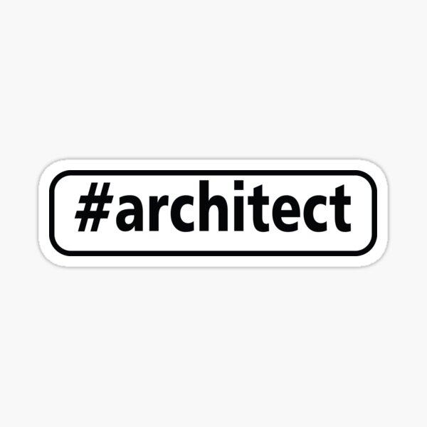 #Architect gift idea Sticker
