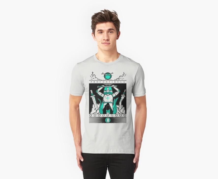 Castle Crashers - Heraldry of the Green Knight by Bratwurst !