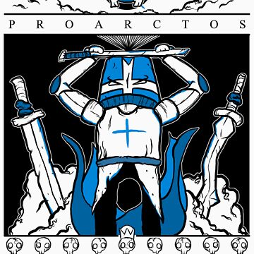 Castle Crashers - Heraldry of the Blue Knight by KNIGHTMARE